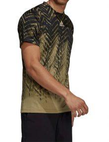 camiseta adidas freelift verde 2021