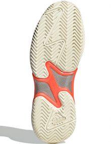 zapatillas adidas barricade blancas suela