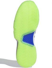 zapatillas adidas courtjam bounce azul sonic suela