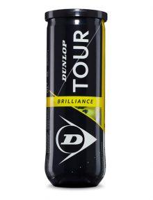 Bote 3 pelotas Dunlop Tour Brilliance