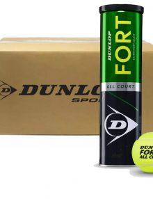 Cajón Dunlop Fort All Court bote 4 pelotas