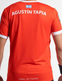 camiseta nox sponsors at10 team roja back