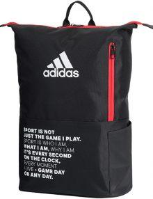 mochila adidas multigame roja