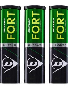 3 botes Dunlop Fort All Court