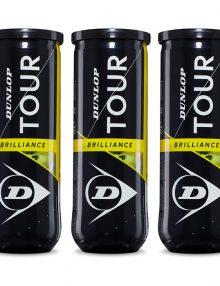 Pack 3 botes Dunlop Tour Brilliance